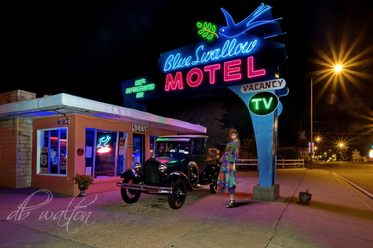 Blue Swallow Motel and Charly