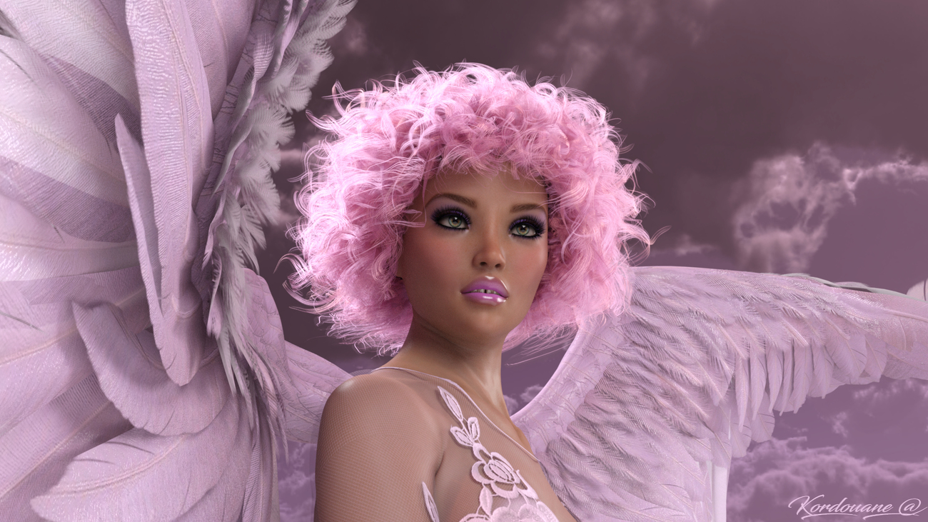 This angel is watching over all of you