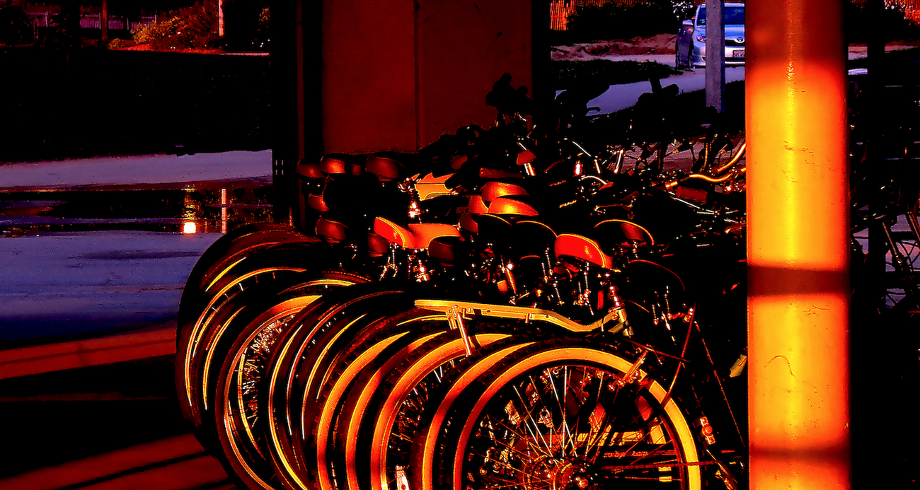 Bikes at Dawn by anahata.c