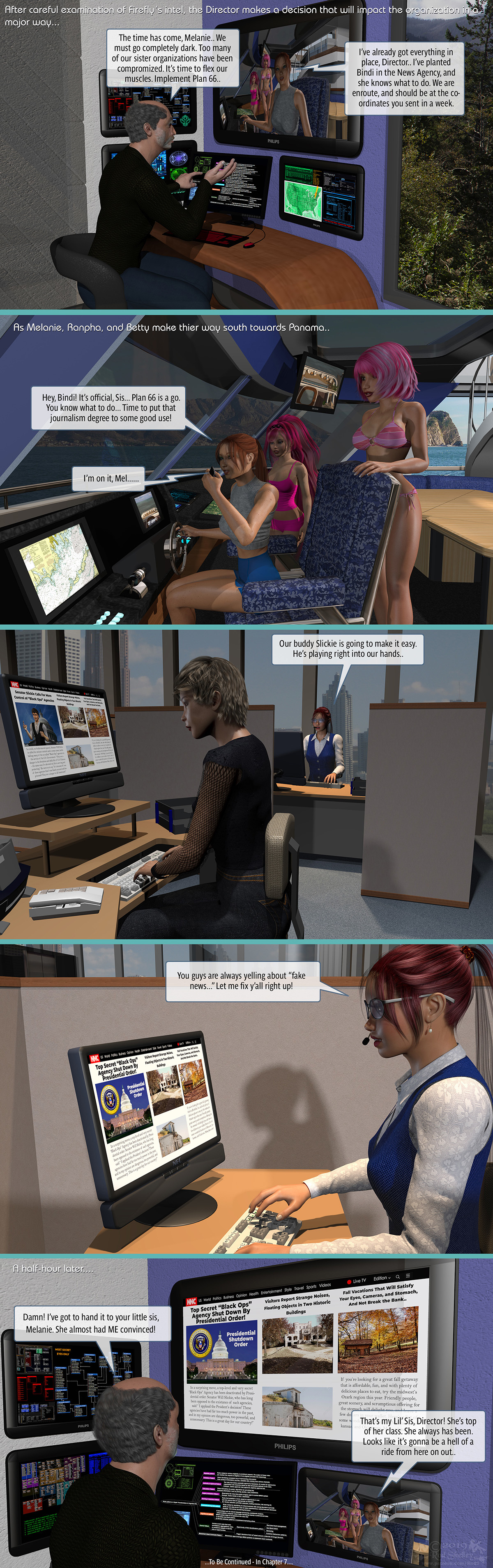 Girls From T.N.A: Breitlenger Jar: Ch 6 Page 43