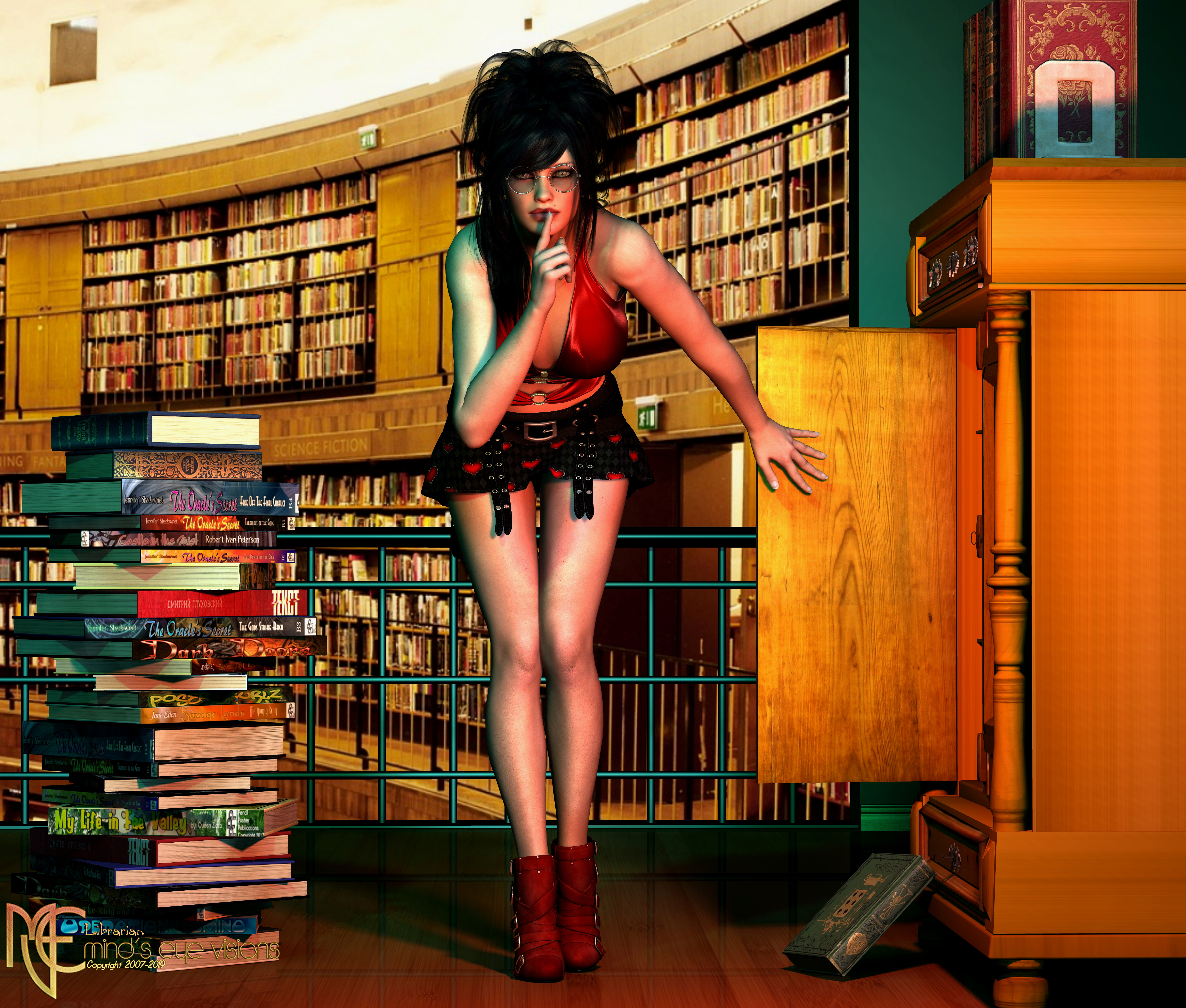 Librarian (Happy Humpday)