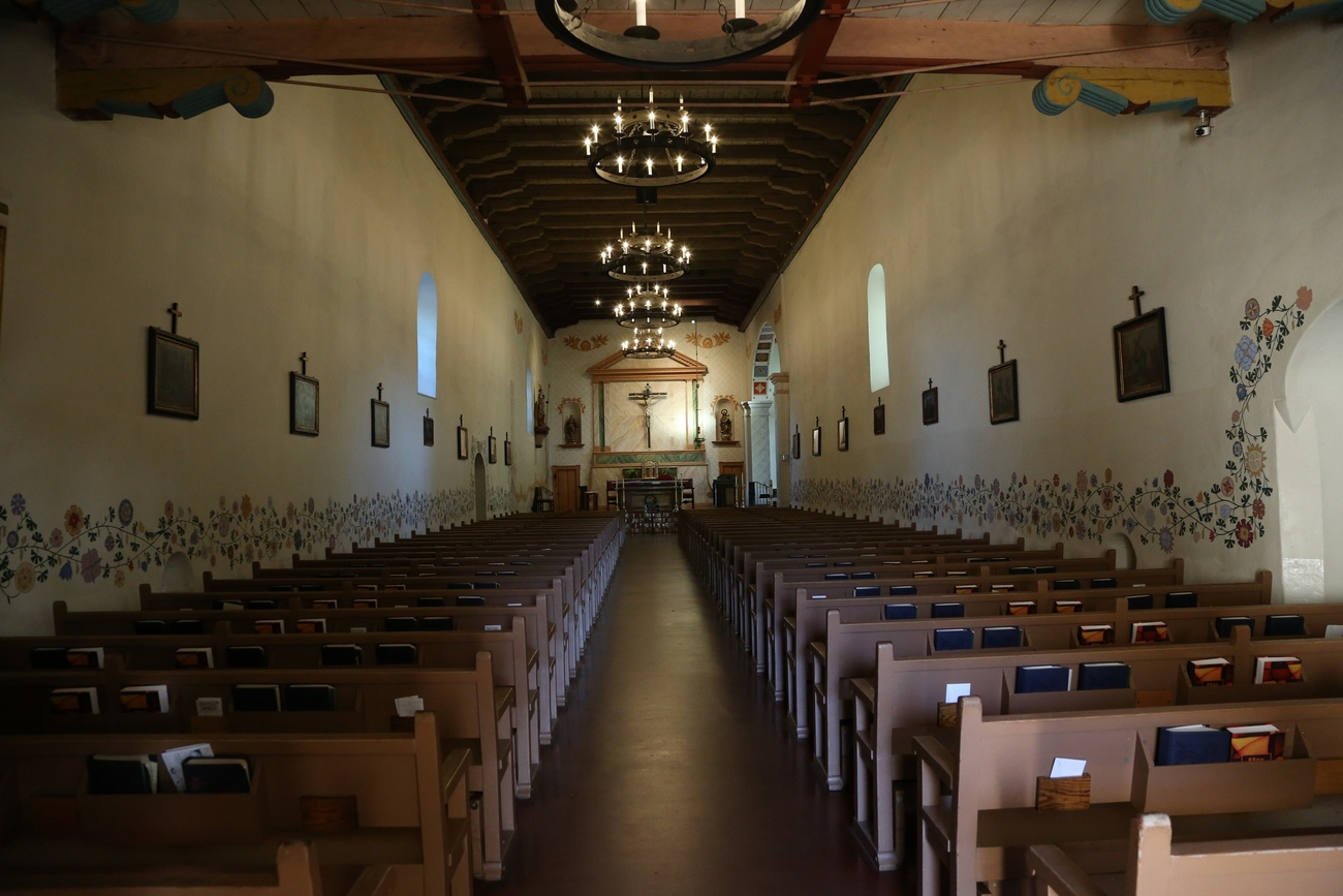 San Luis Obispo Mission Church by Richardphotos