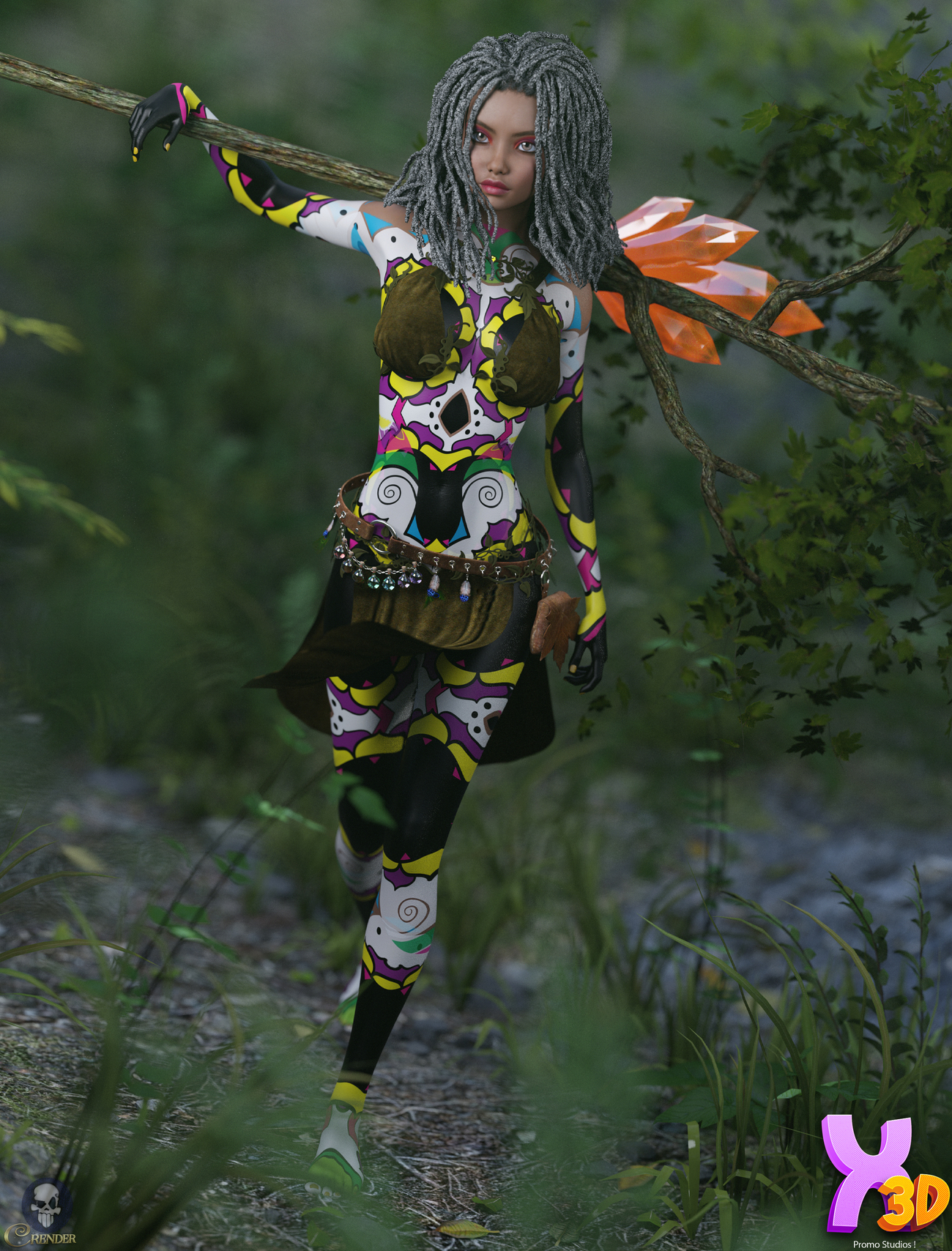 TDT-Linda for G3F by Deva3D 2 by crender