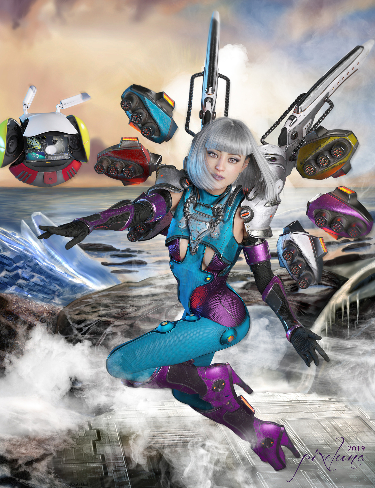 Happy Thanksgiving from the Ice Planet Zenon by pixeluna