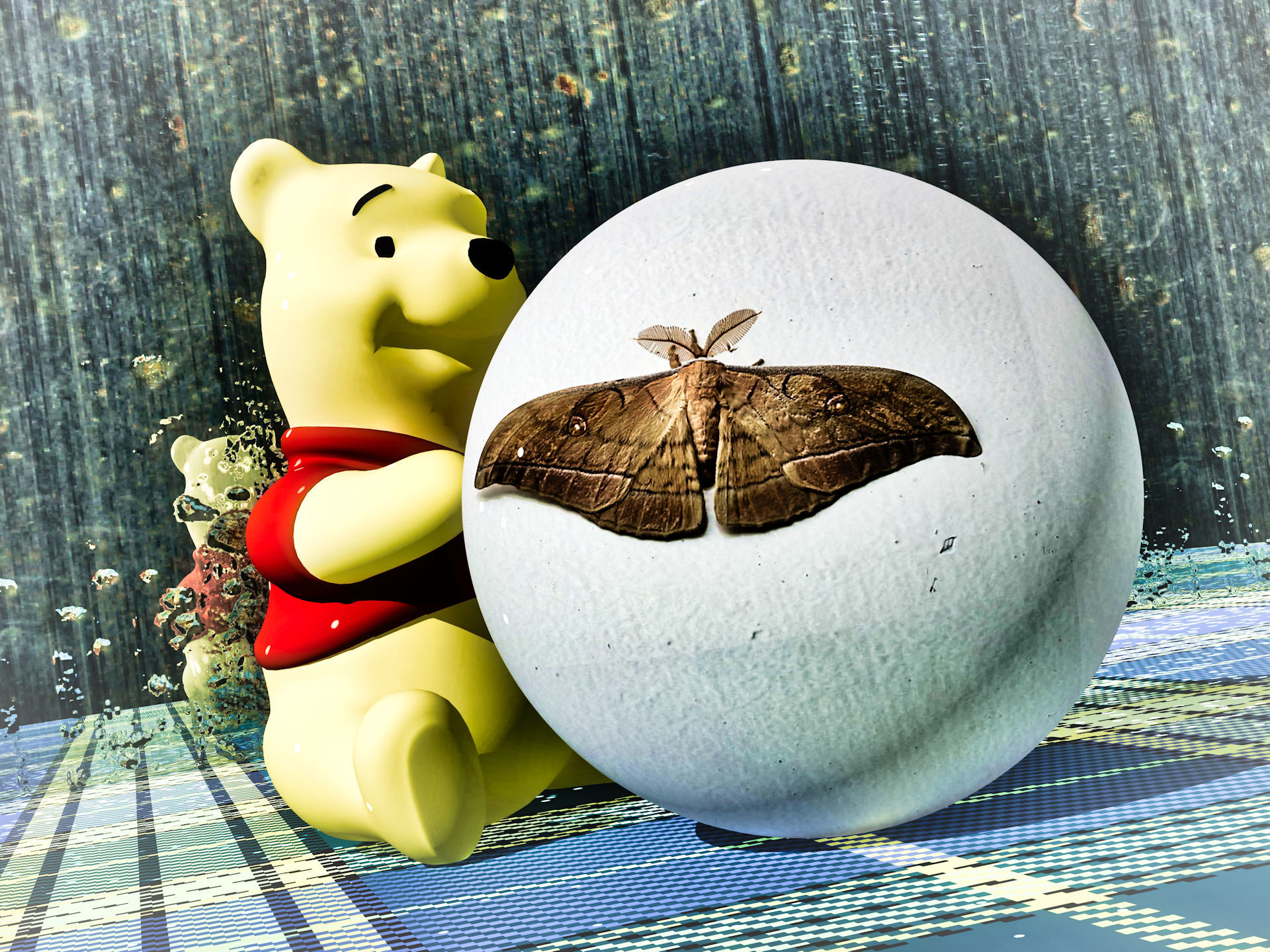Winnie-the-Pooh & The Rolling Ball