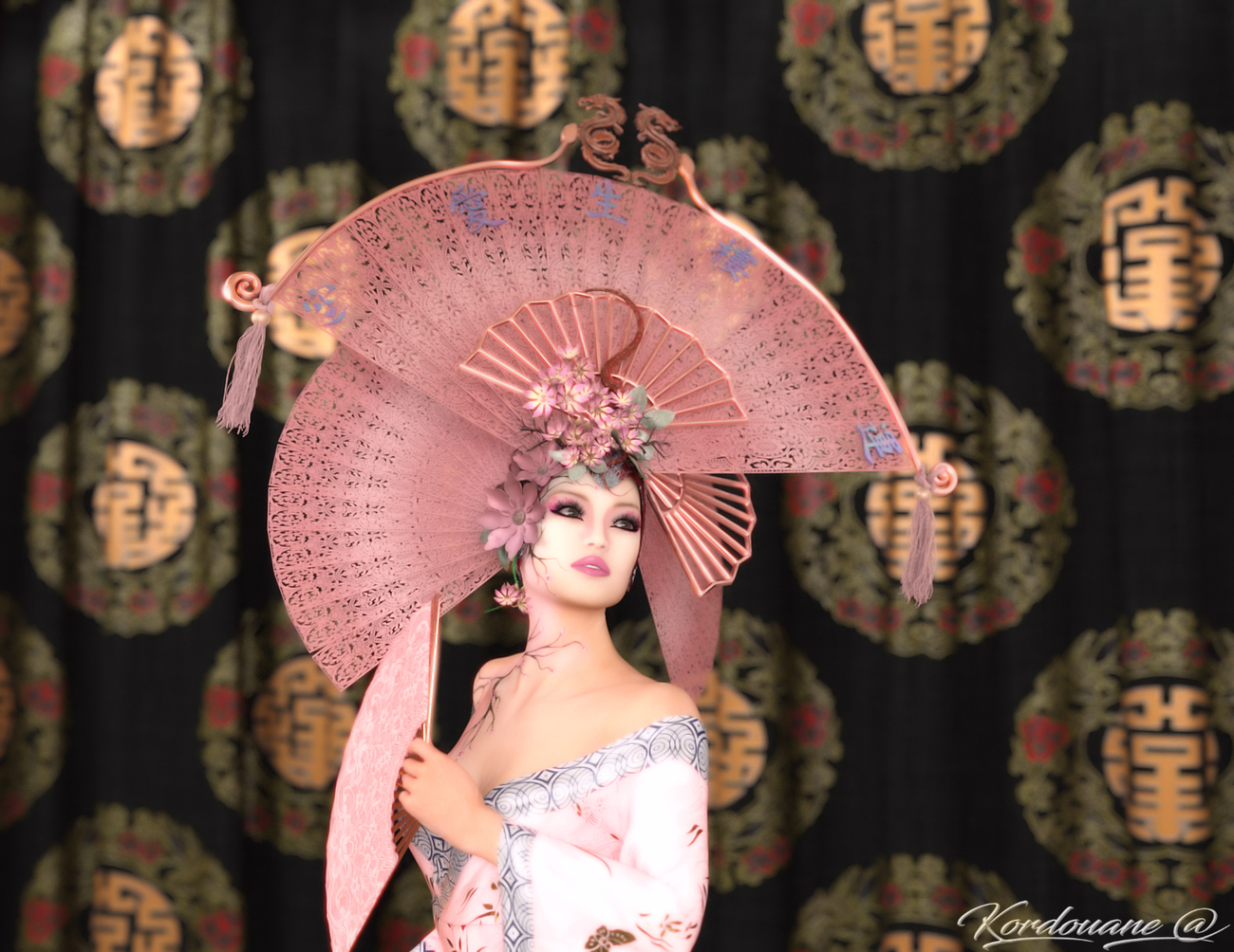 All in finesse and delicacy of asian by kordouane