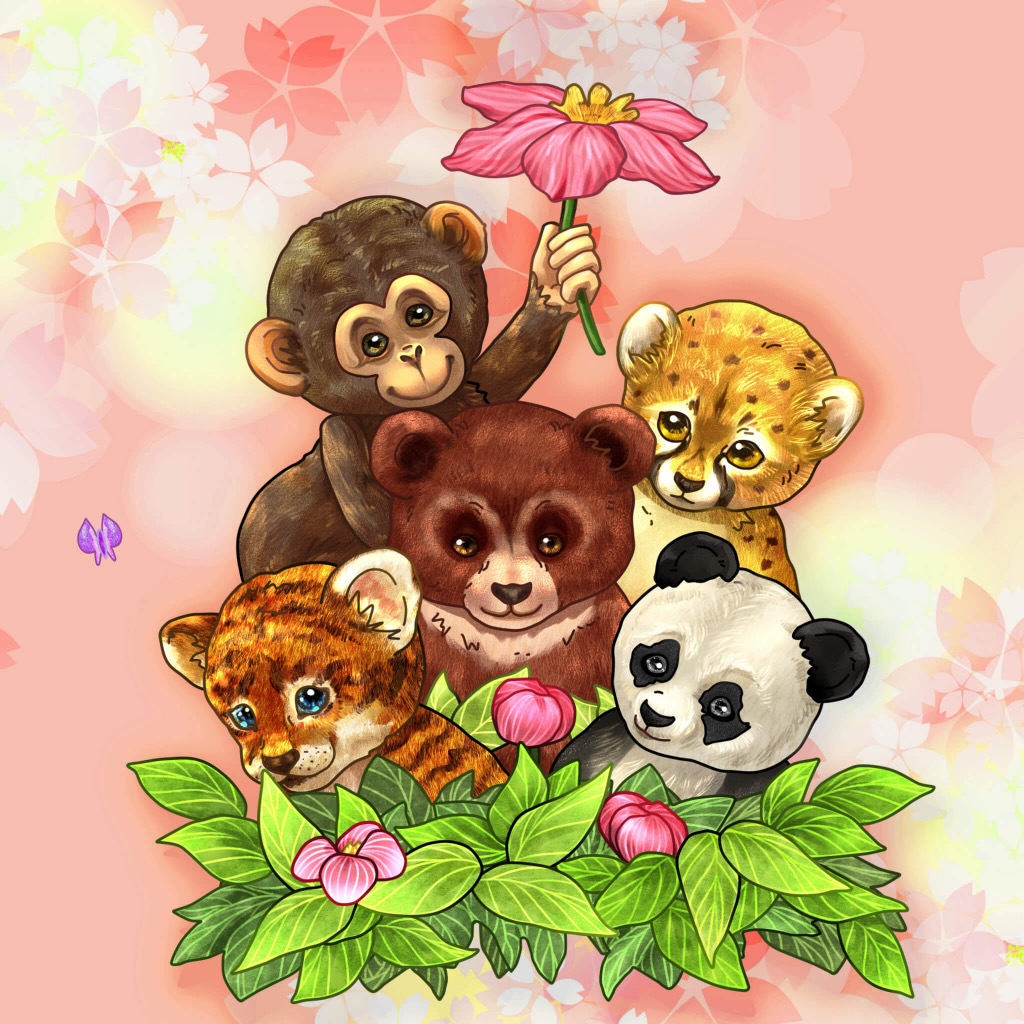 The World of Baby Animals by Lyne