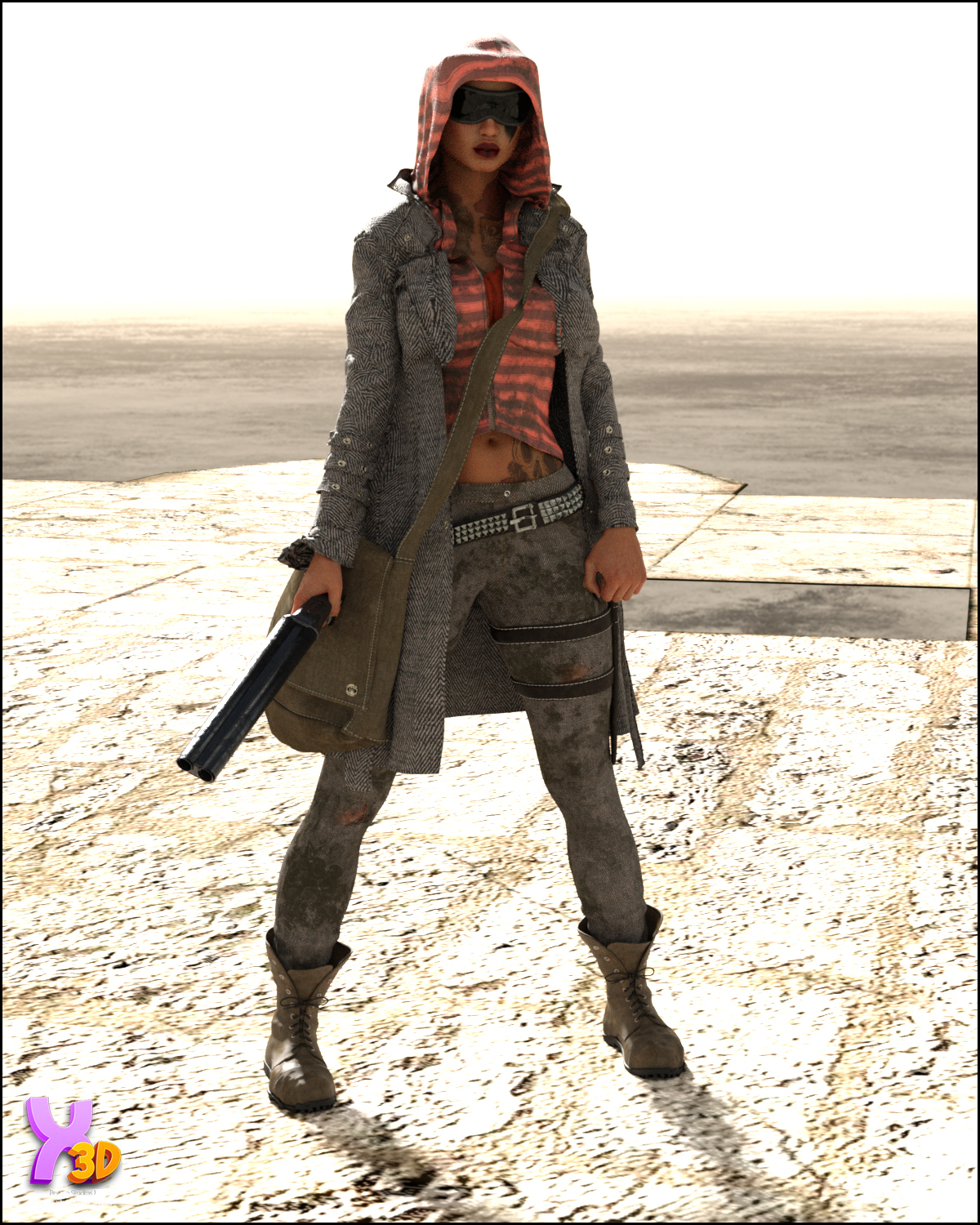 SC Wastelander Outfit for G8F