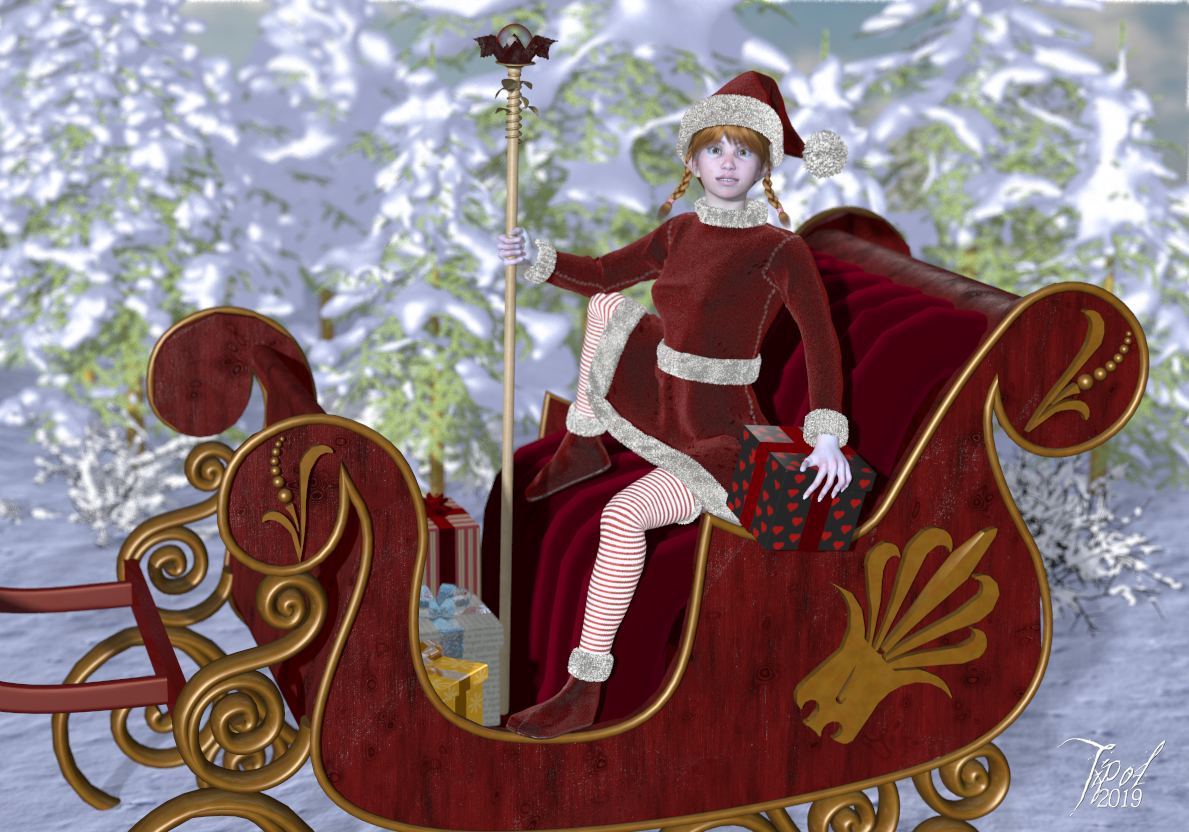 Mother Christmas by Tipol