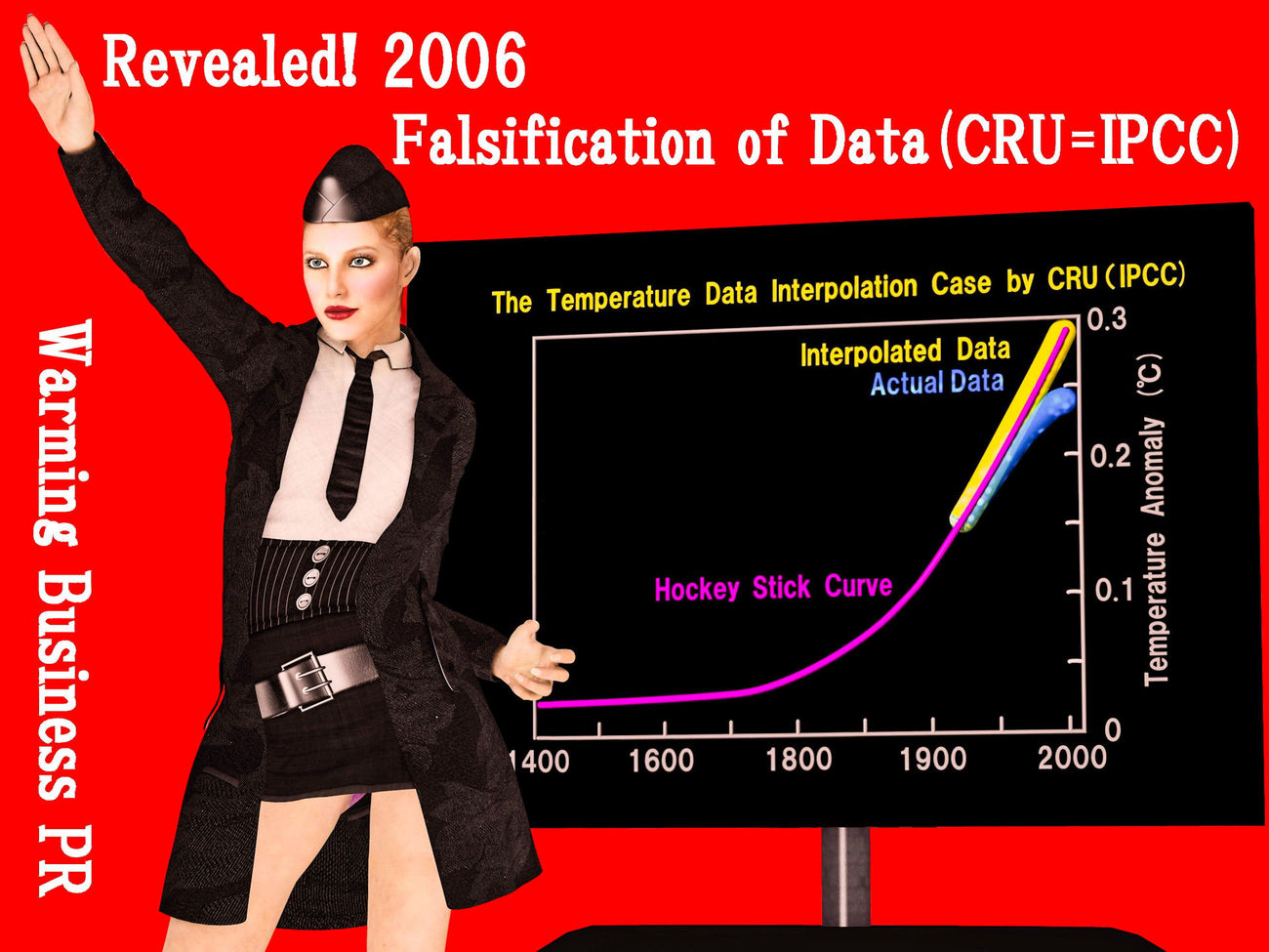 Falsification of Data by CRU(=IPCC) by Ark_Pilot