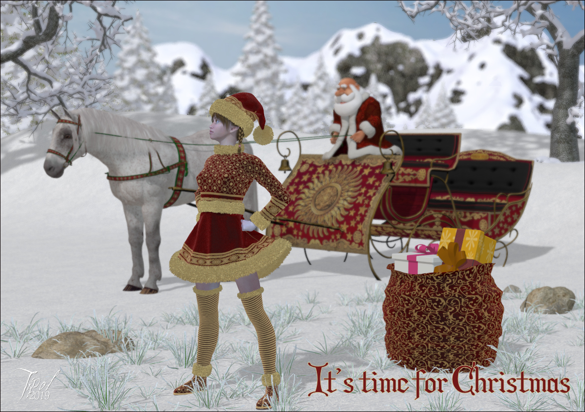 It's time for Christmas. by Tipol
