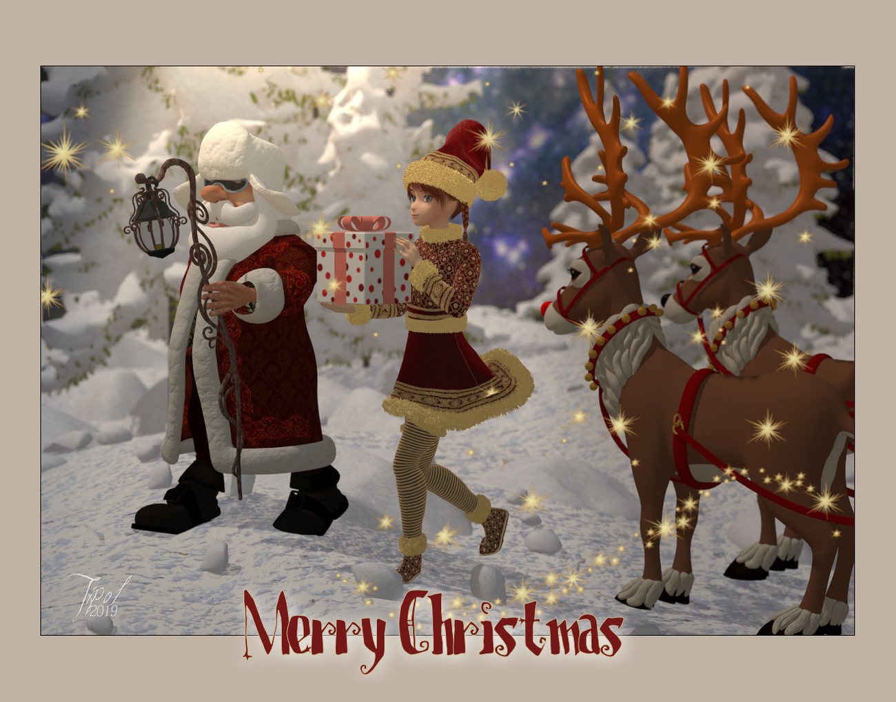 Merry Christmas by Tipol