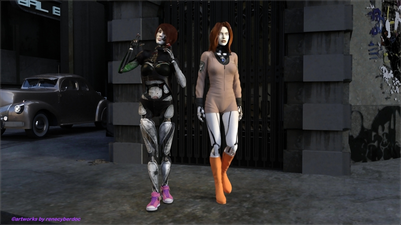 Fembot Revival by renecyberdoc