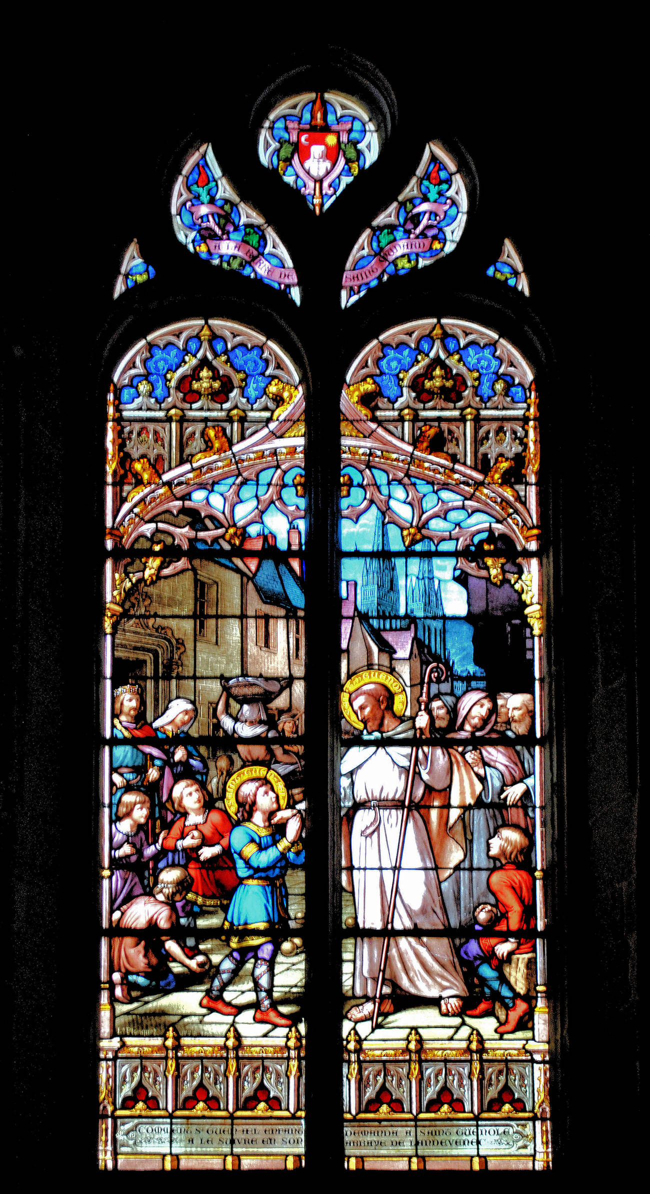 Vitrail - Stained glass window 10 by kordouane