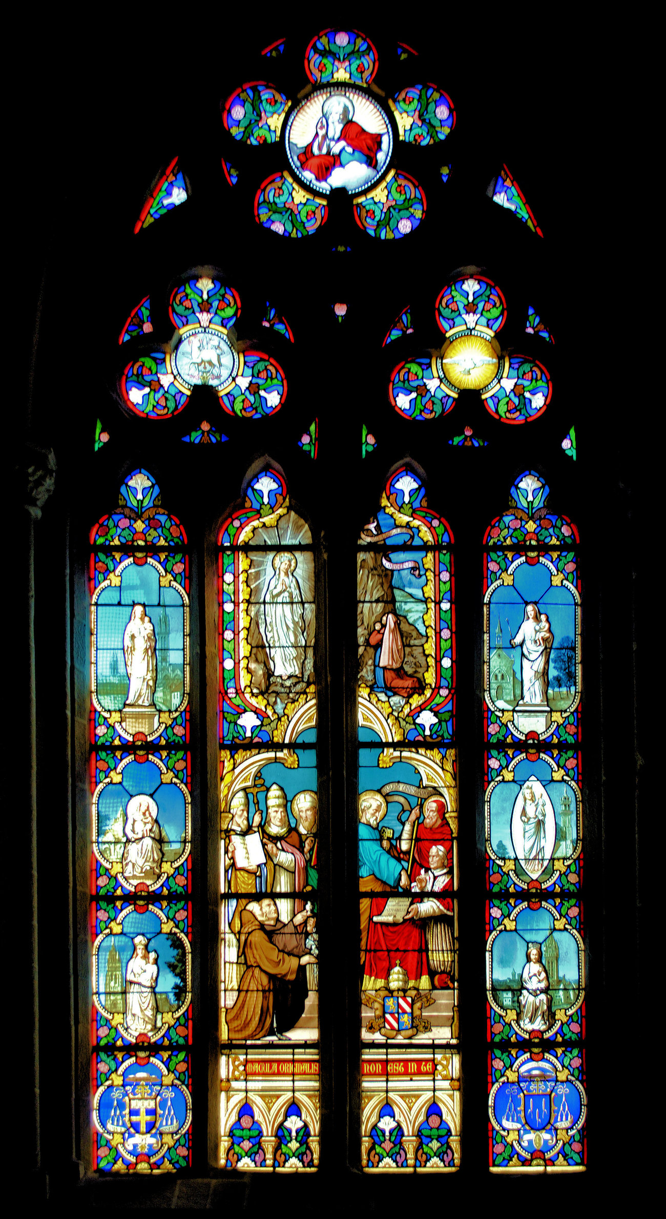 Vitrail - Stained glass window 11 by kordouane