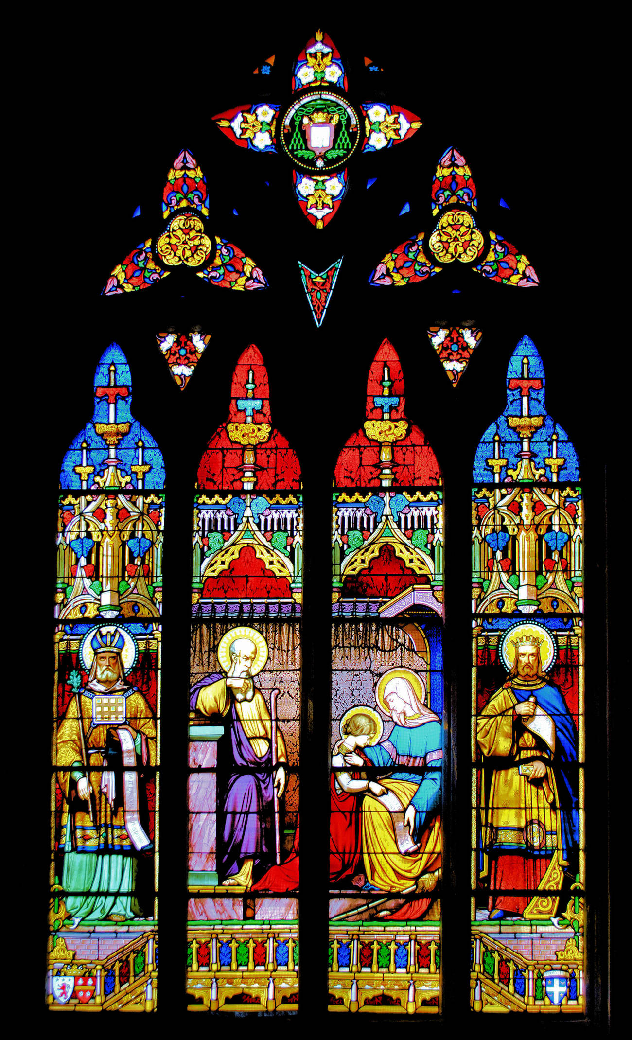 Vitrail - Stained glass window 12 by kordouane