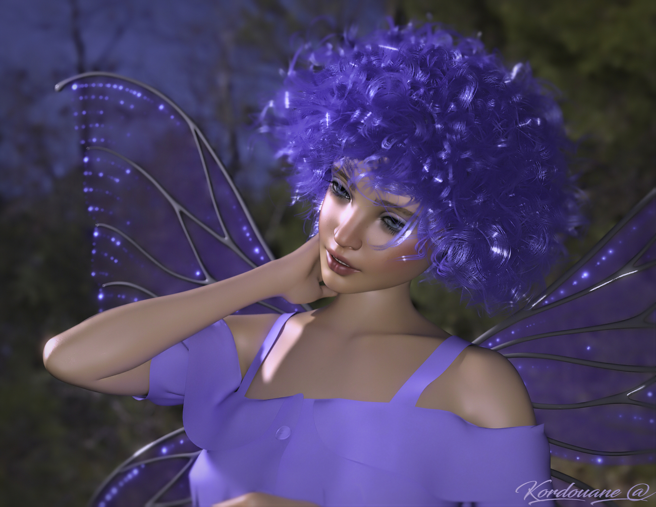 Catherine in Blue Fairy by kordouane