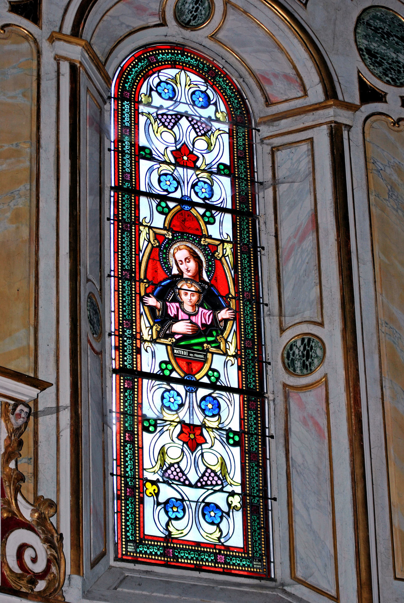 Vitrail - Stained glass window 13 by kordouane