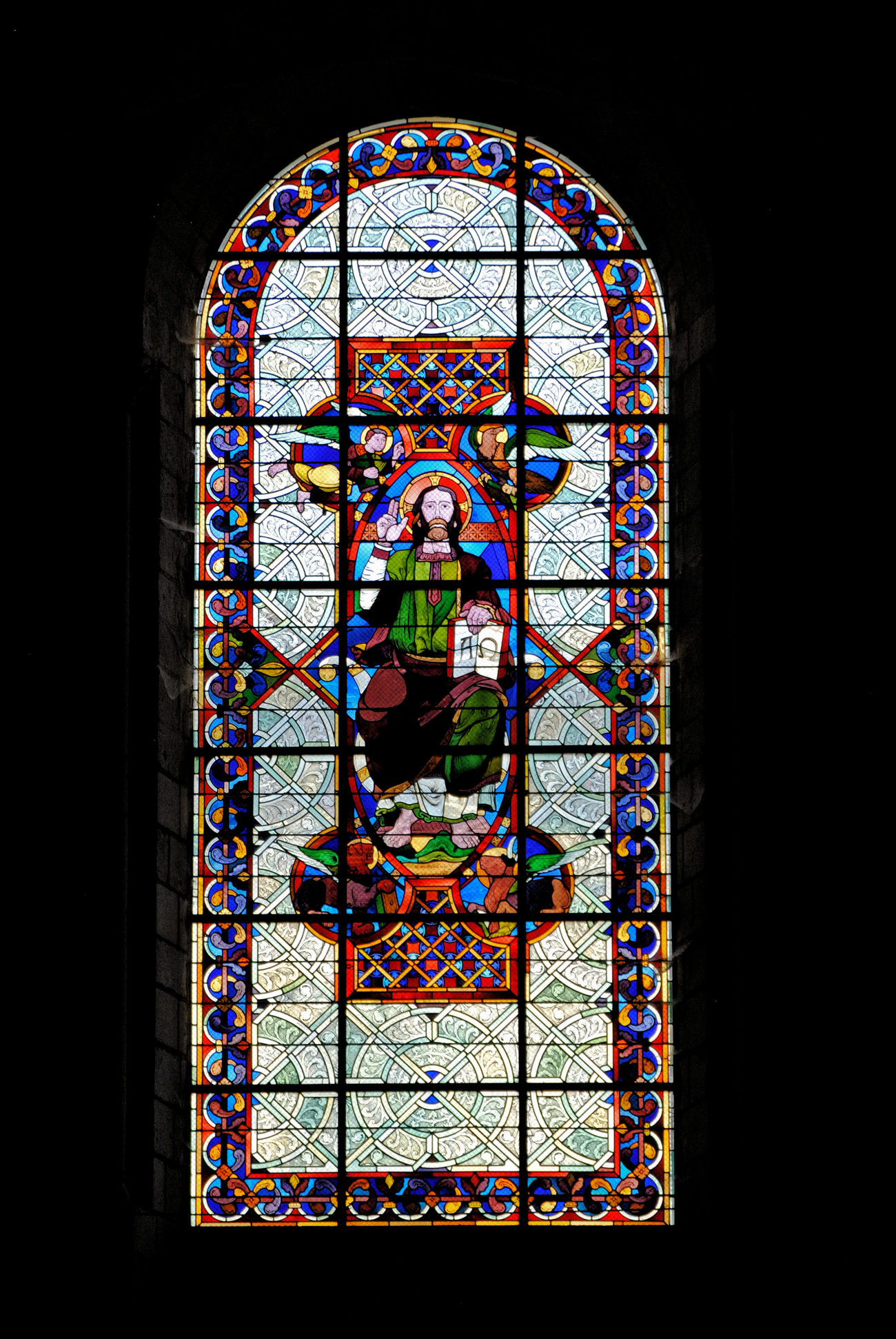 Vitrail - Stained glass window 15 by kordouane