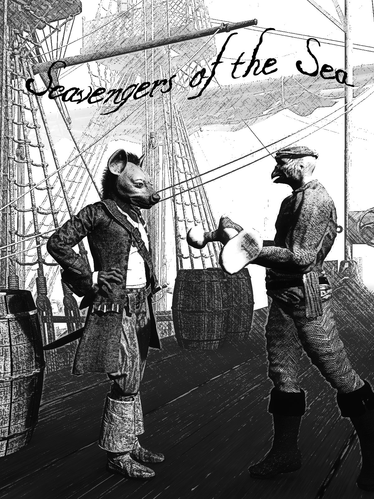 Scavengers of the Sea by rps53