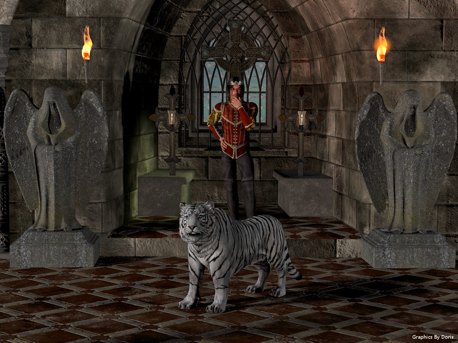 The Prince And His Tiger