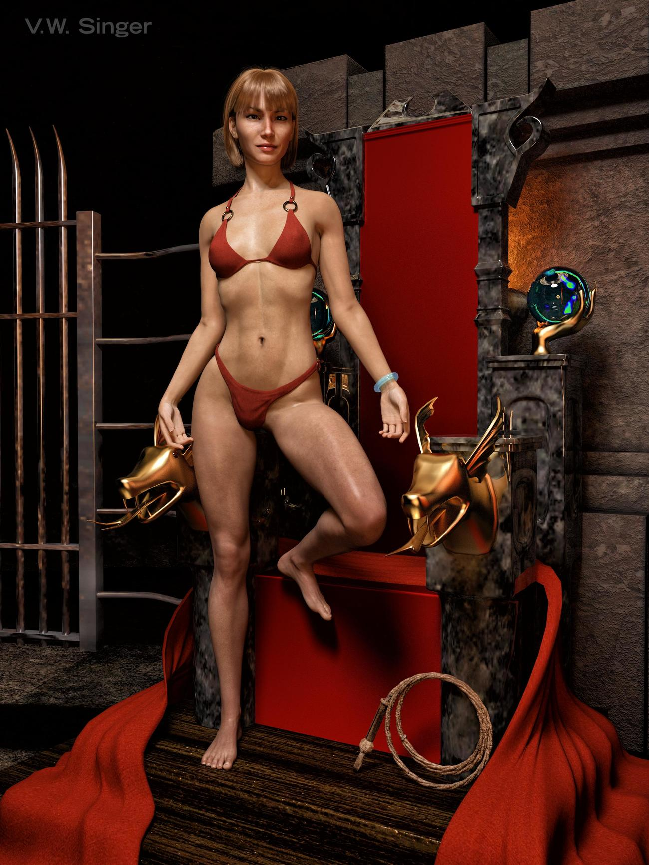 Warlord's Concubine by vwsinger