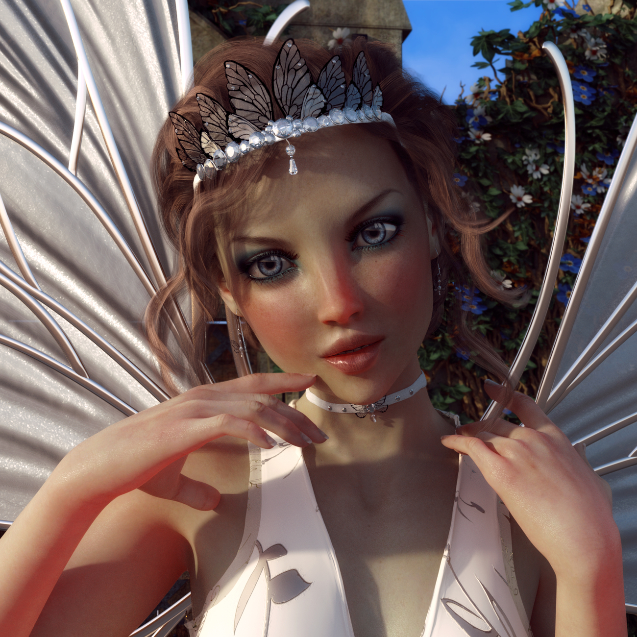 Fairy Jewelry for Genesis 8 Female by Chaosqueens-World