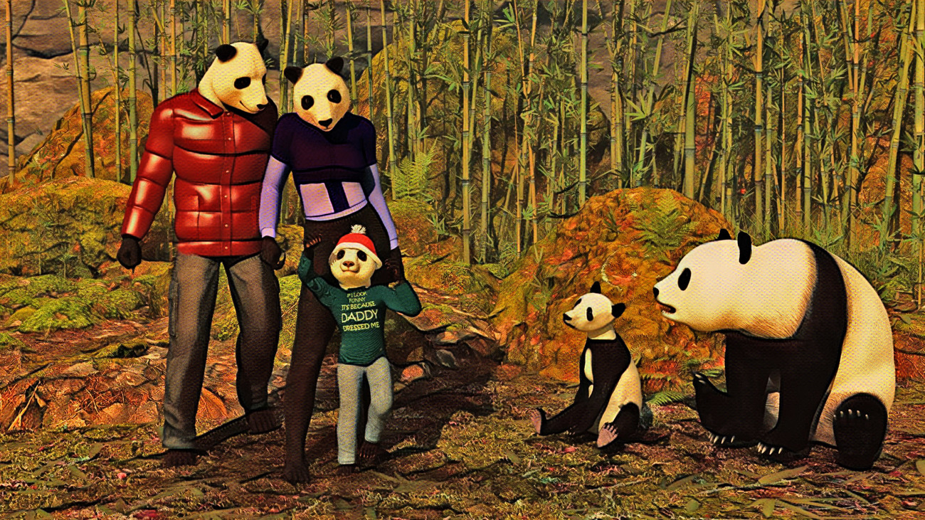 A New Crowd in Bamboo Forests (Version 1) by rps53