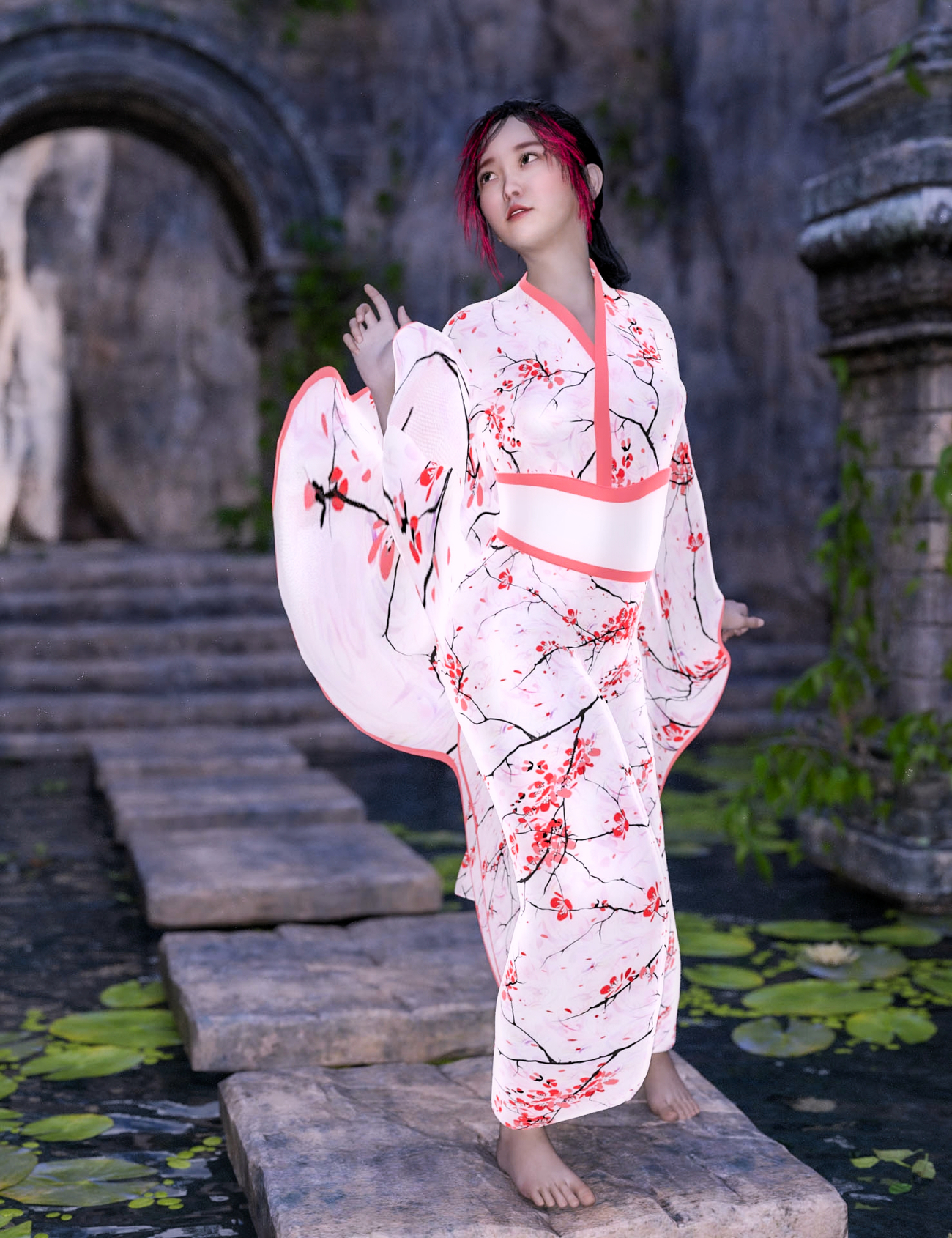 USAMI 4 ~At the mystic garden~ by Ark_Pilot