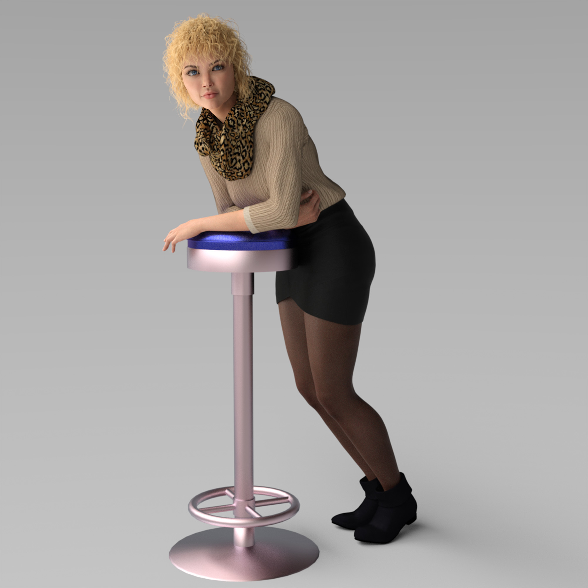 New Product  Morphing Stool Prop
