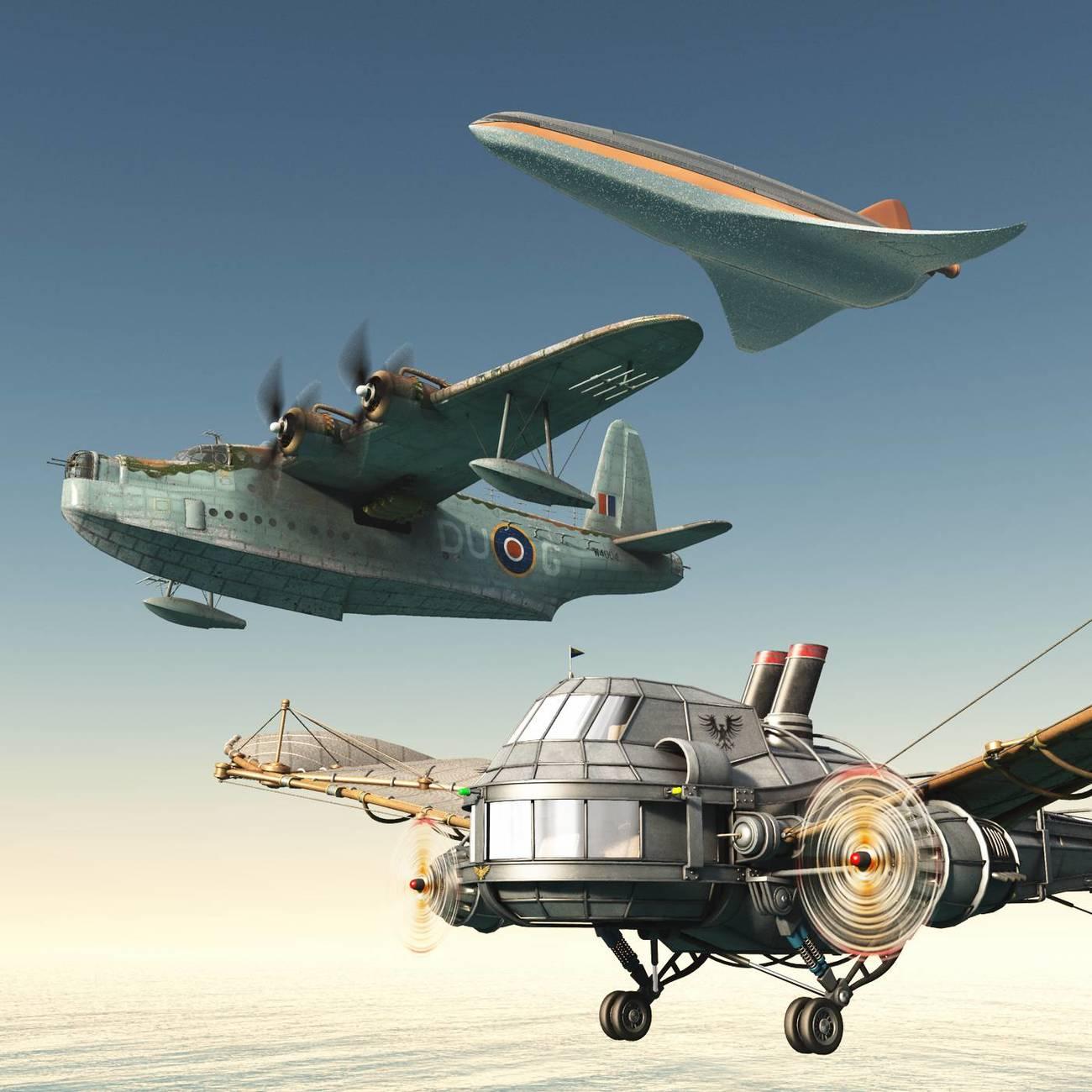 Alternative Worlds of Aviation by rps53