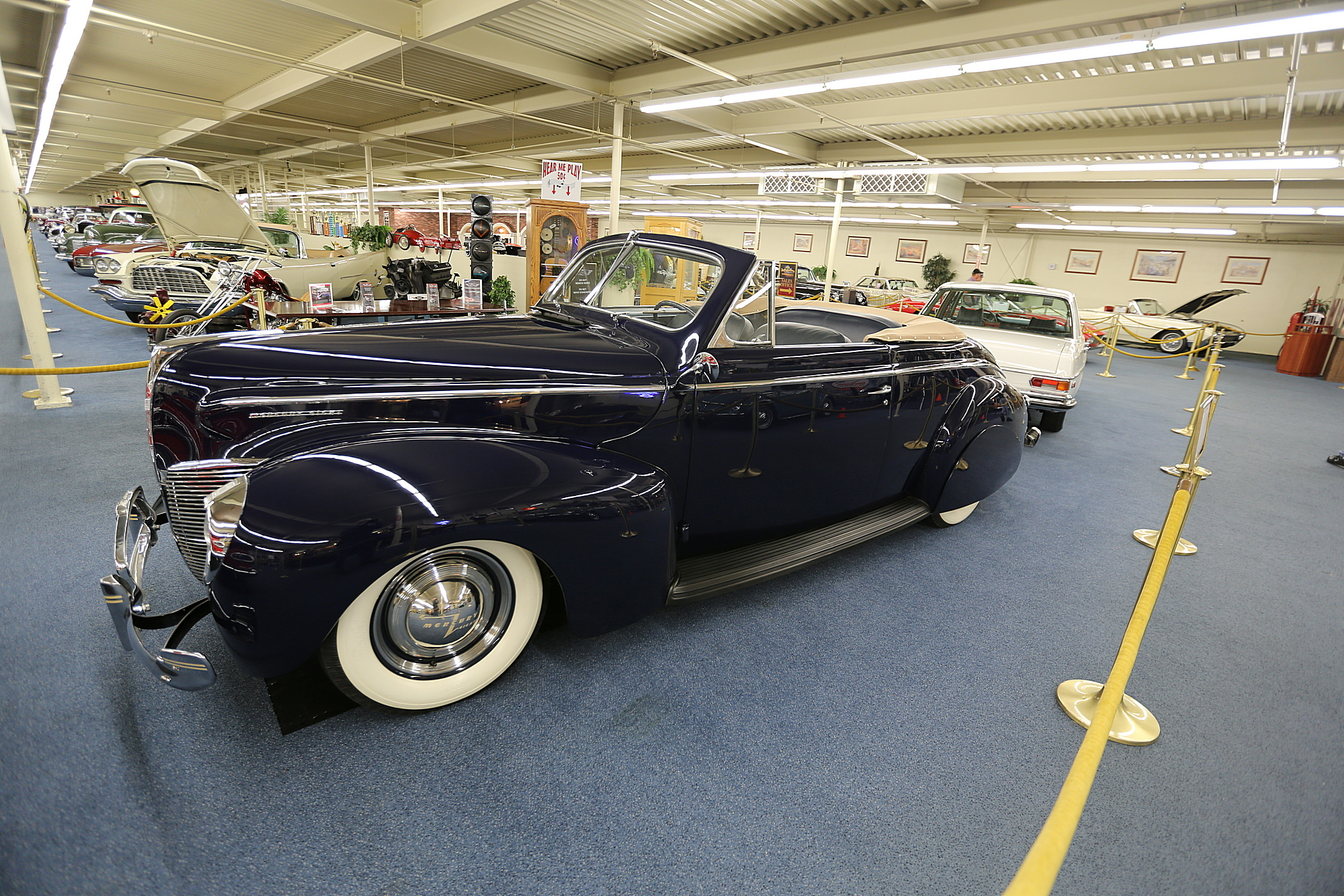 1940 Mercury V-8 Convertible