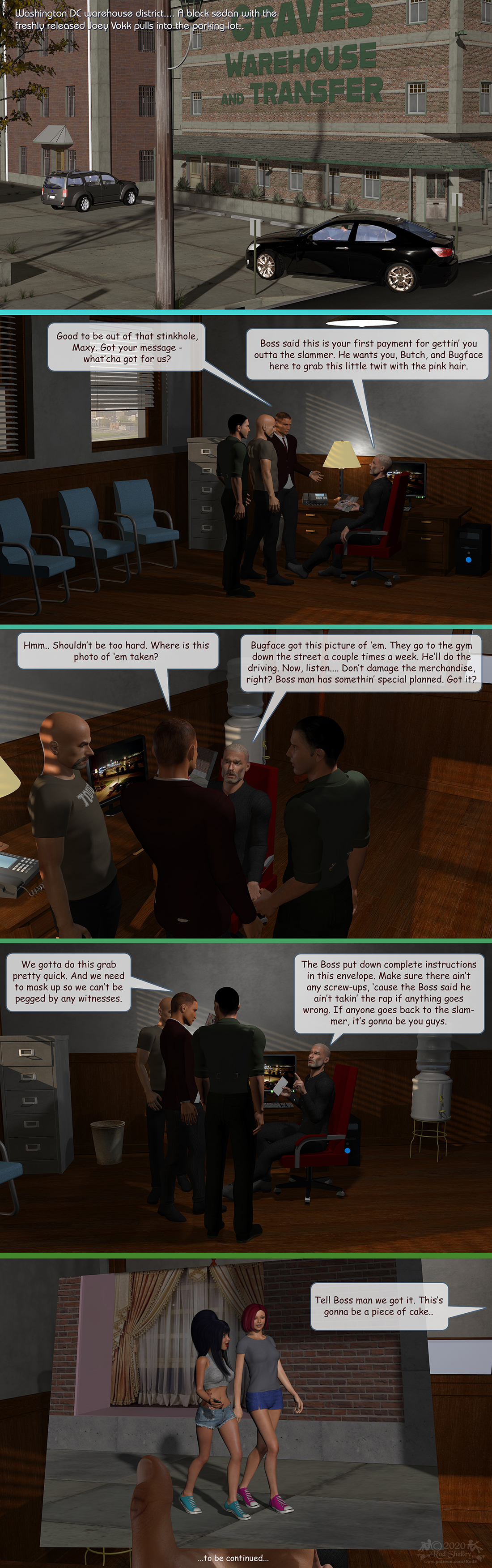 Girls From T.N.A: Breitlenger Jar: Ch 7 Page 02 by RodS