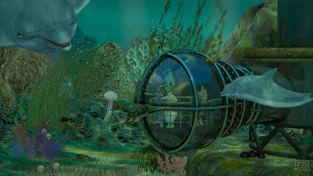 Onats Family Visits Captain Nemo's UnderseaWorld by perpetualrevision