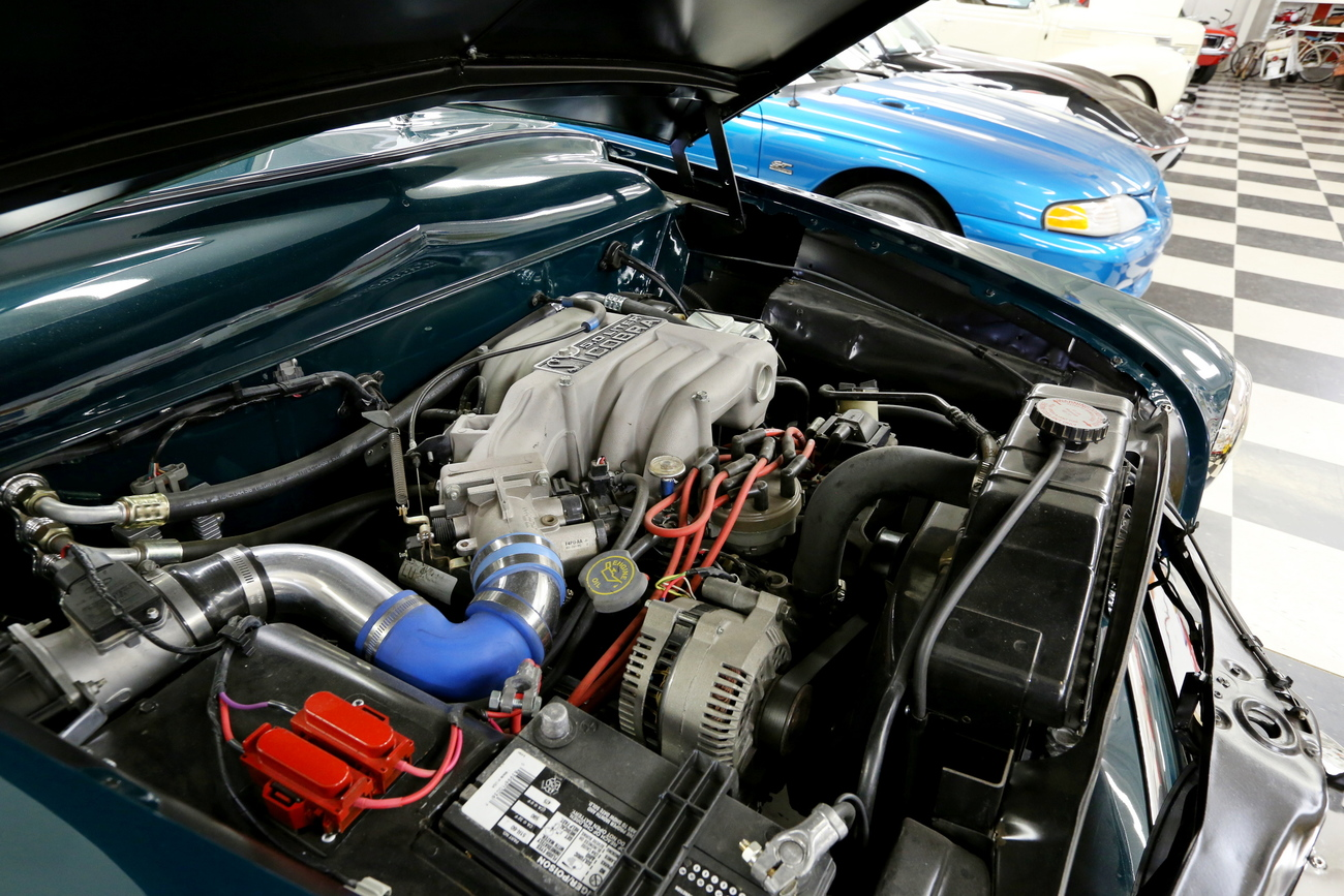 beefy engine for an antique Ford by Richardphotos