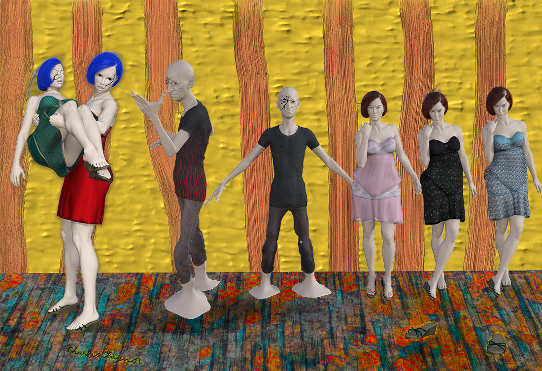 Escape of The Mannequins by Cgaynor