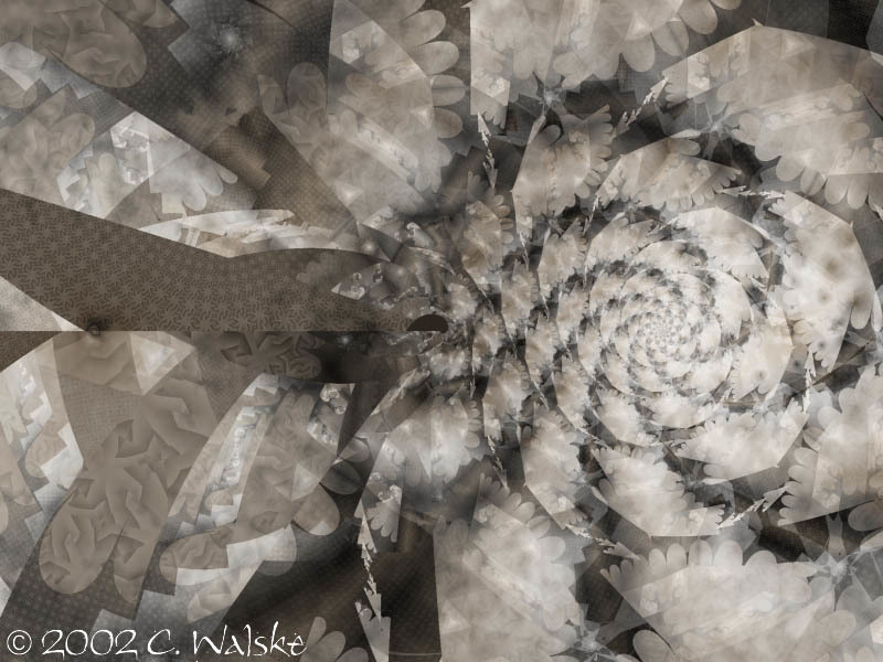 Light-dappled spiral