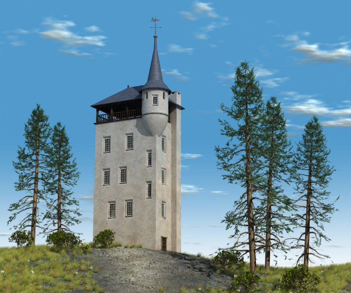 Tower of Palthe by Alfons