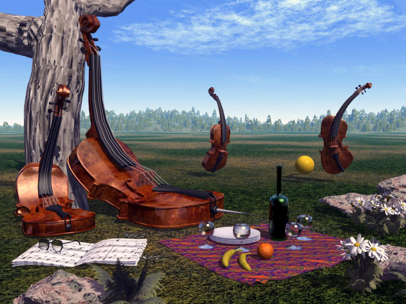 Picnic for string quartet by erka