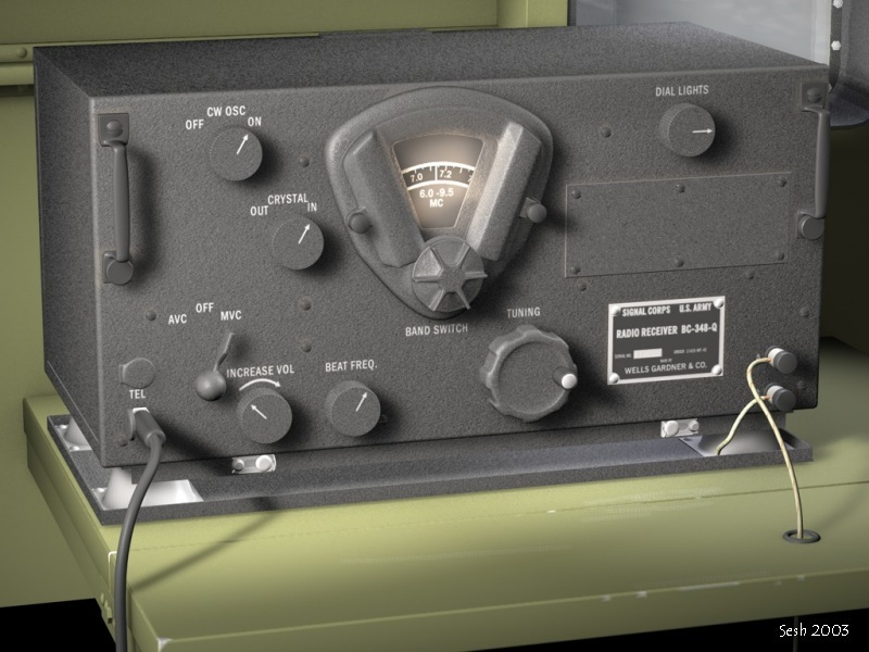 WWII Receiver (repost)