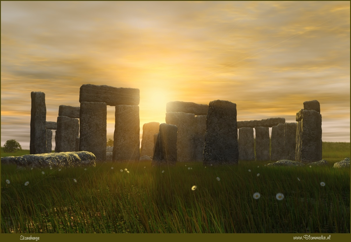 Stonehenge by Alfons