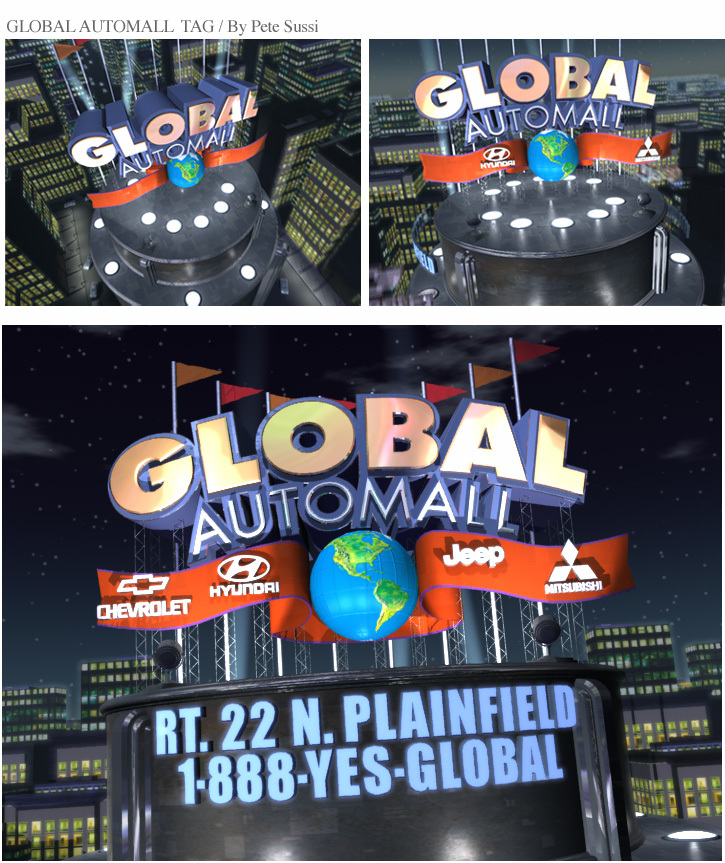 Global Automall Animation