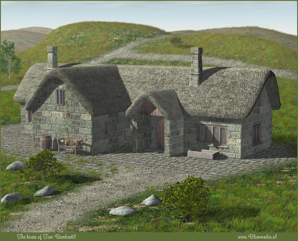 The house of Tom Bombadil by Alfons