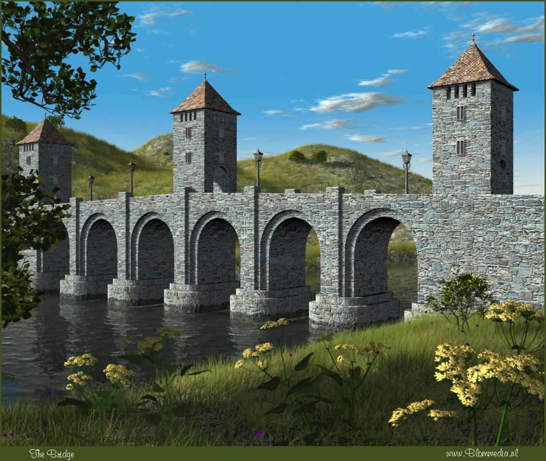 The Bridge by Alfons