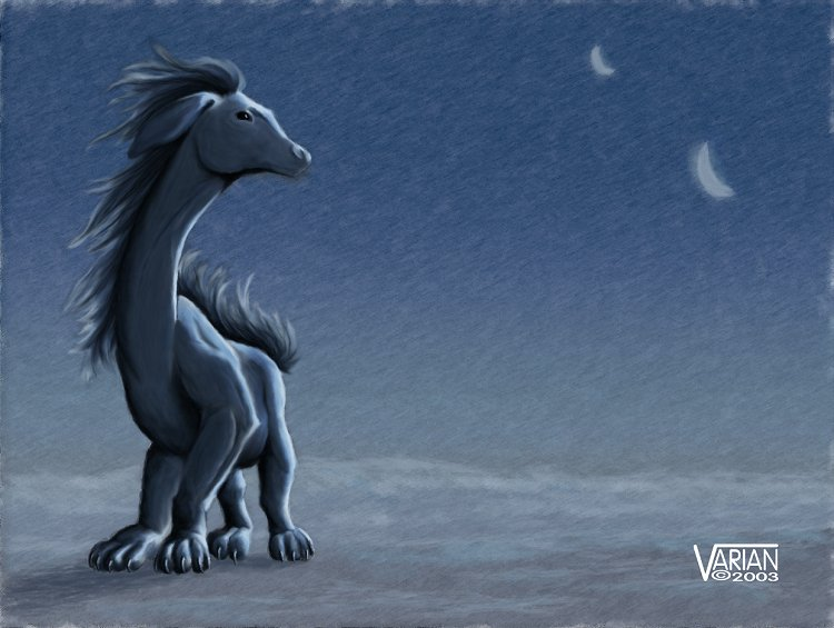 Moongazing by Varian 2D Creatures