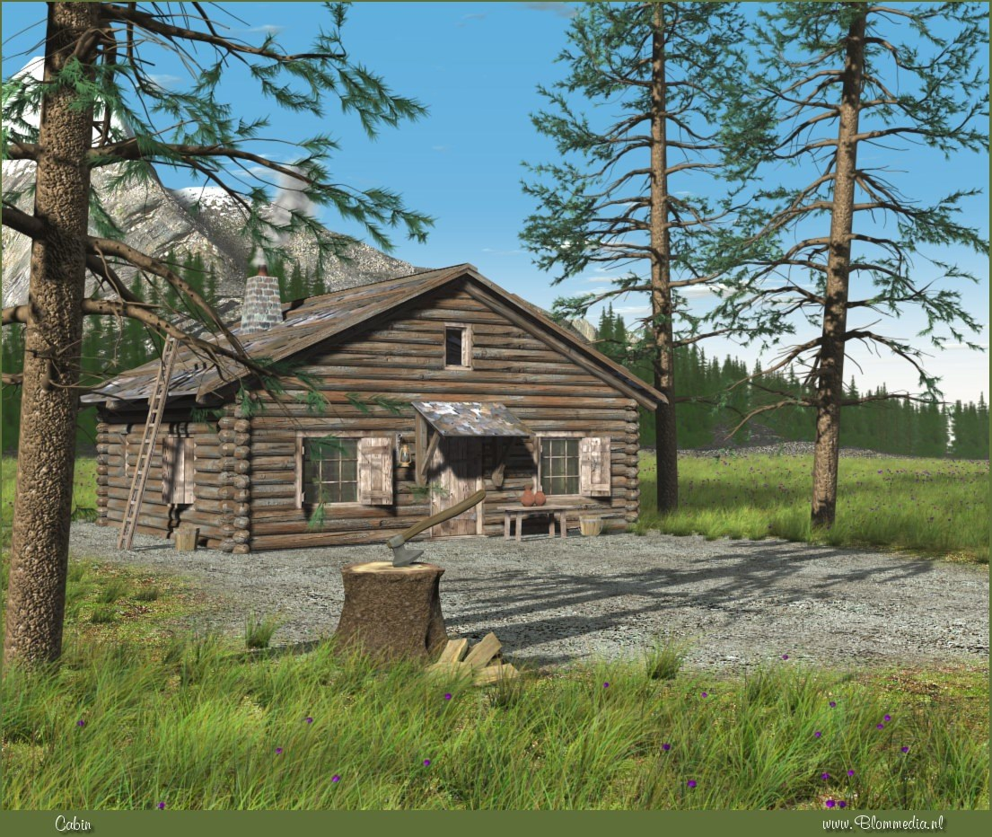 Cabin by Alfons