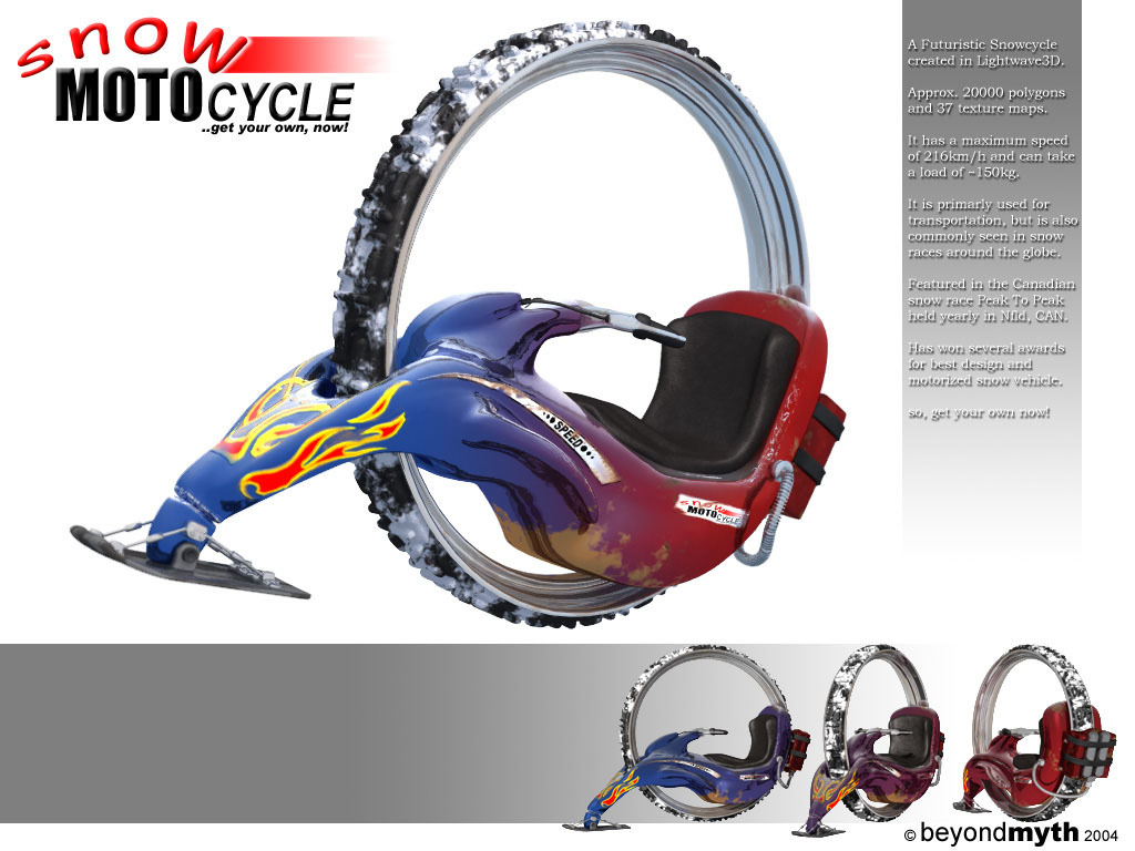 Snow Motocycle - final