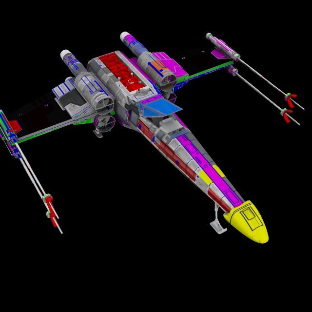 x wing texture test 2