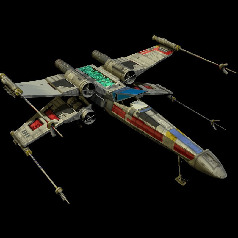 xwing texture test 3