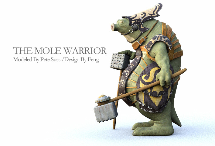 MOLE WARRIOR